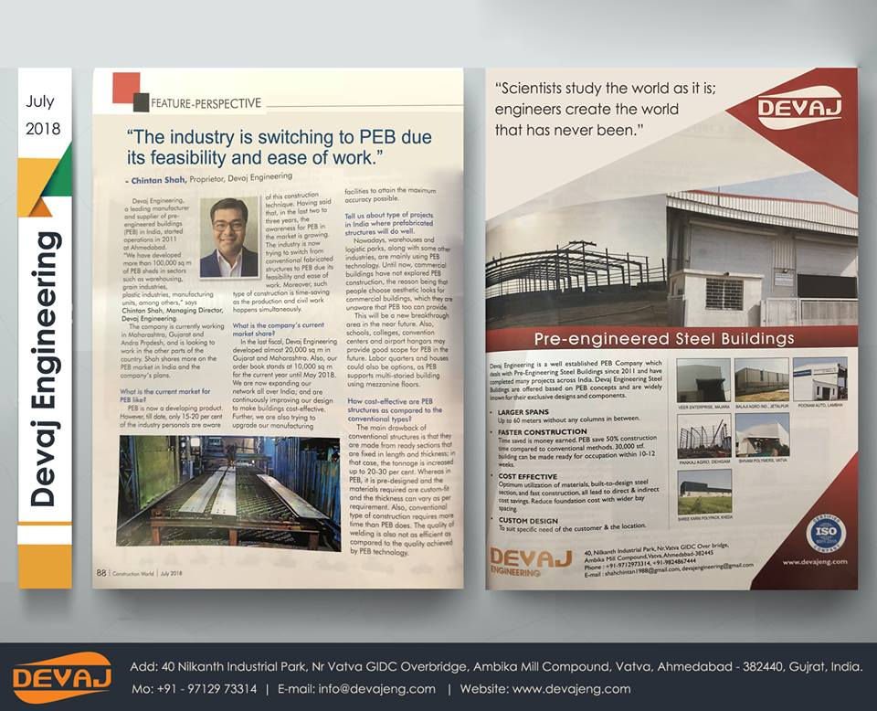 Construction World July 2018